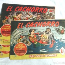 Tebeos: LOTE 4 CÓMICS EL CACHORRO Nº 190, 191, 192 Y 202 EDITORIAL BRUGUERA. Lote 90375920