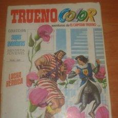 Tebeos: TRUENO COLOR Nº 189. LUCHA HEROICA. EL CAPITÁN TRUENO. EDITORIAL BRUGUERA.. Lote 83711900