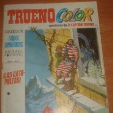 Tebeos: TRUENO COLOR Nº 142. ¡LAS CATAPULTAS!. EL CAPITÁN TRUENO. EDITORIAL BRUGUERA.. Lote 83711984