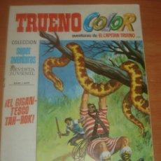 Tebeos: TRUENO COLOR Nº 143. EL GIGANTESCO TAH-ROH. EL CAPITÁN TRUENO. EDITORIAL BRUGUERA.. Lote 83712096