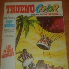 Tebeos: TRUENO COLOR Nº 174. LOS PERROS SALVAJES. EL CAPITÁN TRUENO. EDITORIAL BRUGUERA.. Lote 83712156