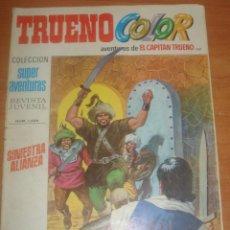 Tebeos: TRUENO COLOR Nº 188. SINIESTRA ALIANZA. EL CAPITÁN TRUENO. EDITORIAL BRUGUERA.. Lote 83712252