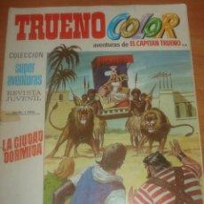 Tebeos: TRUENO COLOR Nº 138. LA CIUDAD DORMIDA. EL CAPITÁN TRUENO. EDITORIAL BRUGUERA.. Lote 83712440