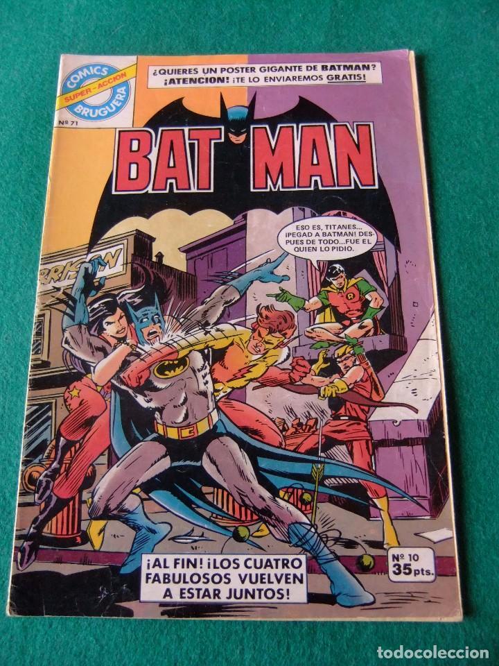BATMAN Nº 10 EDITORIAL BRUGUERA (Tebeos y Comics - Bruguera - Otros)