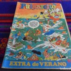 Tebeos: PULGARCITO EXTRA VERANO 1974 CON SHERIFF KING. BRUGUERA 30 PTS. . Lote 83834708