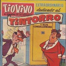 BDs: COMIC COLECCION TIO VIVO 1ª EPOCA Nº 50 EXTRAORDINARIO DEDICADO AL TINTORRO . Lote 83934200