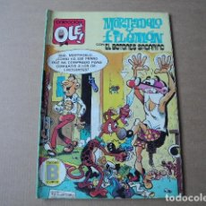 Tebeos: OLÉ. N. 265-M 48 1987 MORTADELO Y FILEMÓN CON EL BOTONES SACARINO. Lote 98775922