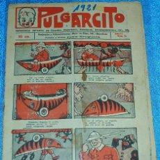 Tebeos: PULGARCITO Nº 72 - JUAN BRUGUERA, 10 CTS, 1921 - ESTADO BONITO - ORIGINAL- LEER TODO. Lote 84332448