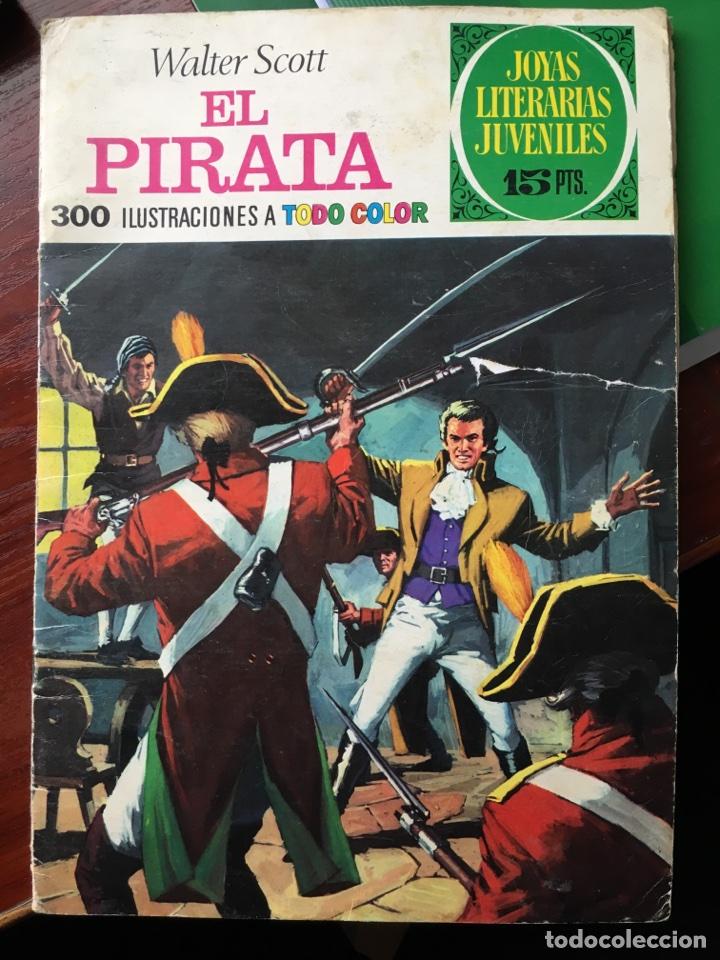 JOYAS LITERARIAS JUVENILES-EL PIRATA-6-1970-BRUGUERA (Tebeos y Comics - Bruguera - Joyas Literarias)