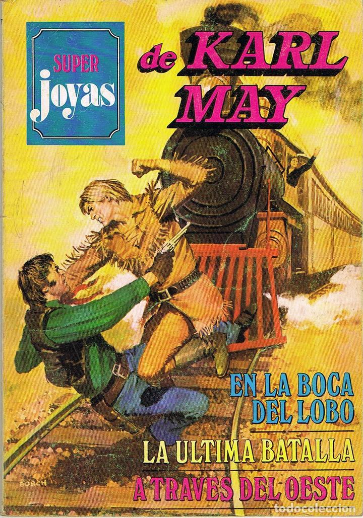 SUPER JOYAS NUMERO 47. KARL MAY (Tebeos y Comics - Bruguera - Joyas Literarias)