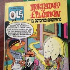 Tebeos: MORTADELO Y FILEMON CON EL BOTONES SACARINO-EXPERIMENTOS EXPERIMENTADOS-1 EDICION 1981-OLE. Lote 84447406