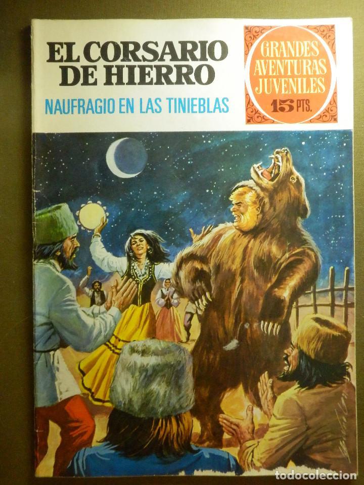 COMIC - EL CORSARIO DE HIERRO - NAUFRAGIO EN LAS TINIEBLAS - Nº 45 - BRUGUERA - 1973 (Tebeos y Comics - Bruguera - Otros)