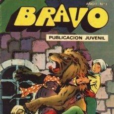Tebeos: BRAVO- Nº 1-EL CACHORRO- Nº 1 -1976-´EL ORO DE LAS INDIAS`- GENIAL IRANZO- TODO UN CLÁSICO-LEAN-8007. Lote 111903279