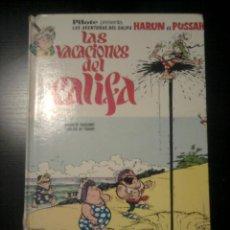 Tebeos: IZNOGUD LAS VACACIONES DEL CALIFA, HARUN EL PUSSAH. BRUGUERA 1968. Lote 84894088