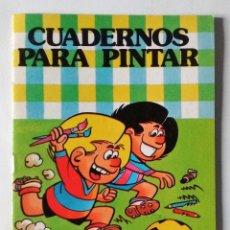 Tebeos: ZIPI Y ZAPE ESCOBAR DEPORTES COLECCIÓN HEROES INFANTILES BRUGUERA 1985 CUADERNOS PINTAR 1ª EDICIÓN. Lote 84920816