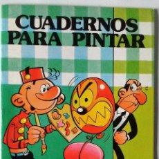 Tebeos: SACARINO IBAÑEZ COLECCIÓN HEROES INFANTILES BRUGUERA 1985 NUEVO CUADERNOS PINTAR 1ª EDICIÓN. Lote 84921508