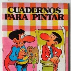 Tebeos: SUPER LÓPEZ JAN COLECCIÓN HEROES INFANTILES BRUGUERA 1985 CUADERNOS PINTAR 1ª EDICIÓN NUEVO. Lote 144153509