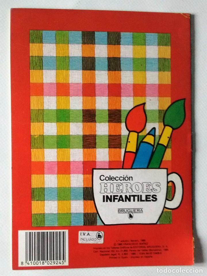 Tebeos: Super López Jan colección heroes infantiles Bruguera 1985 cuadernos pintar 1ª edición nuevo - Foto 2 - 144153509