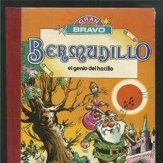 Tebeos: BERMUDILLO, EL GENIO DEL HATILLO, 1982, PRIMERA EDICIÓN, USADO.. Lote 84978456