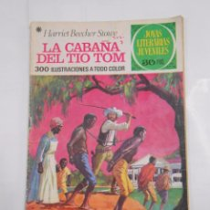 Tebeos: JOYAS LITERARIAS JUVENILES Nº 18. LA CABAÑA DEL TIO TOM. HARRIET BEECHER STOWE. TDKC8. Lote 85062080