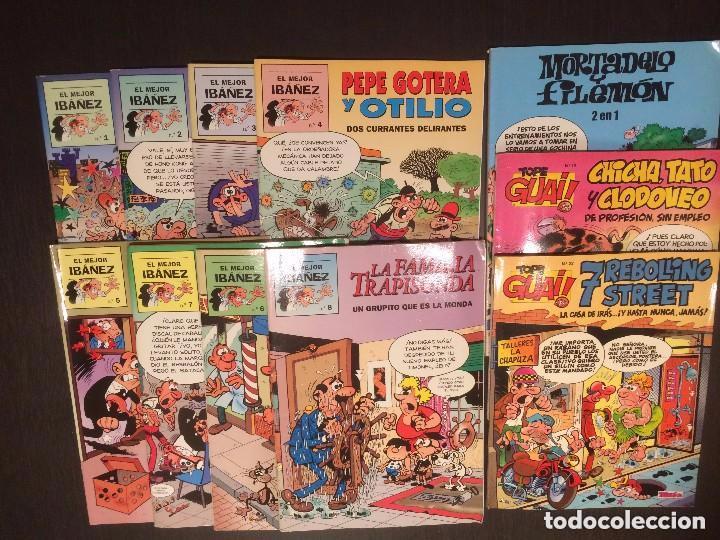 EL MEJOR IBAÑEZ - 2 DE TOPE GUAI - MORTADELO Y FILEMON -REFM1E1 (Tebeos y Comics - Bruguera - Ole)