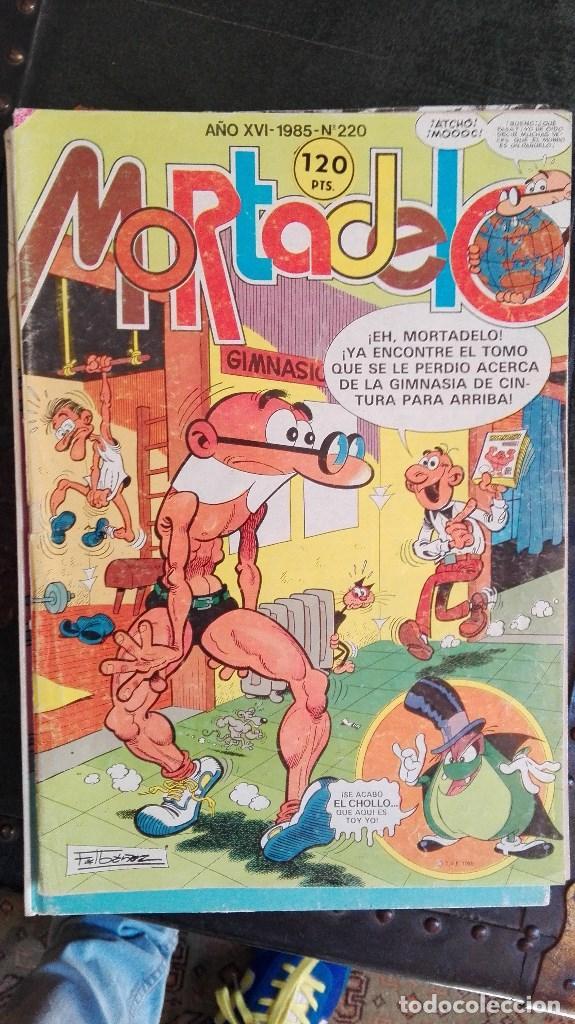 SUPER MORTADELO Nº 220 EL PREBOSTE DE SEGURIDAD TEBEO EDITORIAL BRUGUERA 1985 (Tebeos y Comics - Bruguera - Mortadelo)