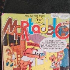 Tebeos: SUPER MORTADELO Nº 220 EL PREBOSTE DE SEGURIDAD TEBEO EDITORIAL BRUGUERA 1985. Lote 85289428