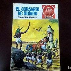 Tebeos: EL CORSARIO DE HIERRO -EL PODER DE TENEBRIS. Lote 85470276