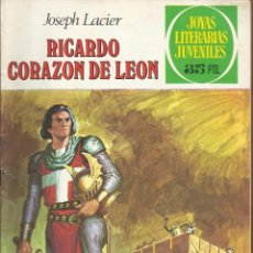 Tebeos: RICARDO CORAZON DE LEON Nº 19 - JOSEPH LACIER A. 1971. Lote 85474828