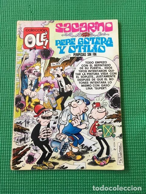 COL OLÉ Nº 122 - SACARINO Y PEPE GOTERA Y OTILIO - 1ª EDICIÓN CON NÚMERO EN EL LOMO (Tebeos y Comics - Bruguera - Ole)