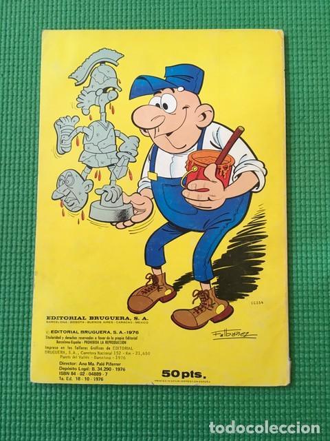 Tebeos: Col Olé nº 122 - Sacarino y Pepe Gotera y Otilio - 1ª edición con número en el lomo - Foto 2 - 85868620