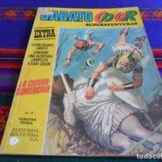 Tebeos: JABATO COLOR EXTRA ALBUM AMARILLO 3ª TERCERA ÉPOCA NºS 6 Y 7. BRUGUERA 1978.. Lote 86021128
