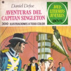 Tebeos: COMIC JOYAS LITERARIAS JUVENILES, Nº 10: AVENTURAS DEL CAPITAN SINGLETON - DANIEL DEFOE; BRUGUERA. Lote 179073688