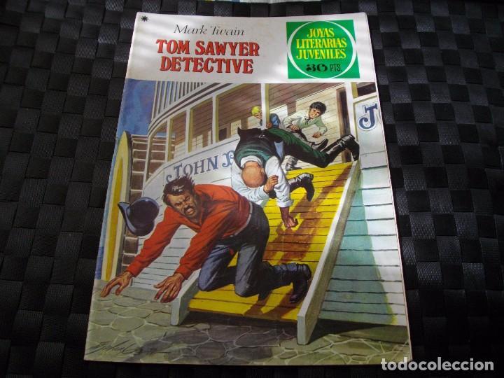 JOYAS LITERARIAS JUVENILES Nº 60 TOM SAWYER DETECTIVE LA DE LAS FOTOS VER TODOS MIS LOTES (Tebeos y Comics - Bruguera - Joyas Literarias)