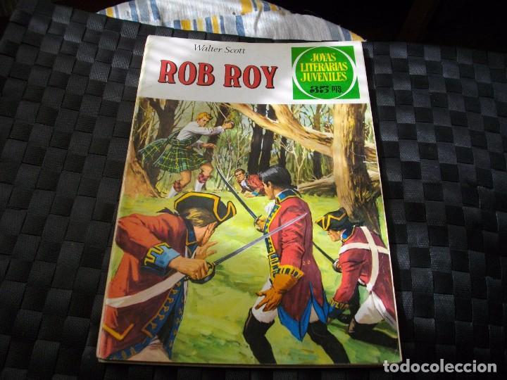 JOYAS LITERARIAS JUVENILES Nº 11 ROB ROY EL DE LAS FOTOS VER TODOS MIS LOTES DE COMICS (Tebeos y Comics - Bruguera - Joyas Literarias)