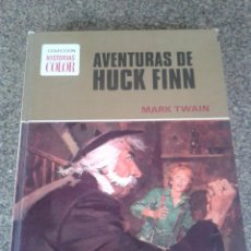 Tebeos: COLECCION HISTORIAS COLOR - AVENTURAS DE HUCK FINN -- Nº 4 -- SERIE GRANDES AVENTURAS --. Lote 86215644
