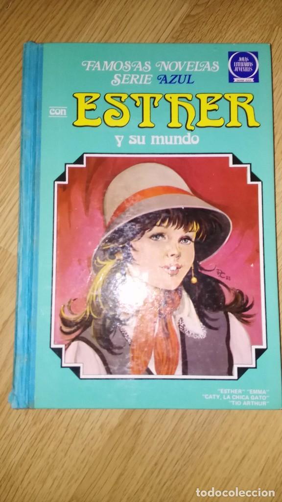 TEBEO FAMOSAS NOVELAS SERIE AZUL CON ESTHER Y SU MUNDO, TOMO Nº 8, BRUGUERA, 1ª EDICION,1983, (Tebeos y Comics - Bruguera - Esther)