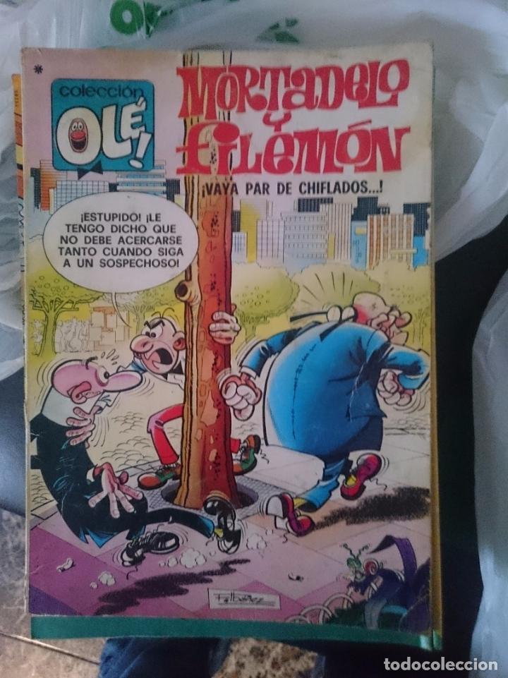 TEBEO COLECCION OLE - MORTADELO Y FILEMON - VAYA PAR DE CHIFLADOS (Tebeos y Comics - Bruguera - Ole)