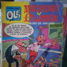 Tebeos: TEBEO COLECCION OLE - MORTADELO Y FILEMON - MEJORES QUE JAMES BOND -REFM1E5BODE. Lote 86424672