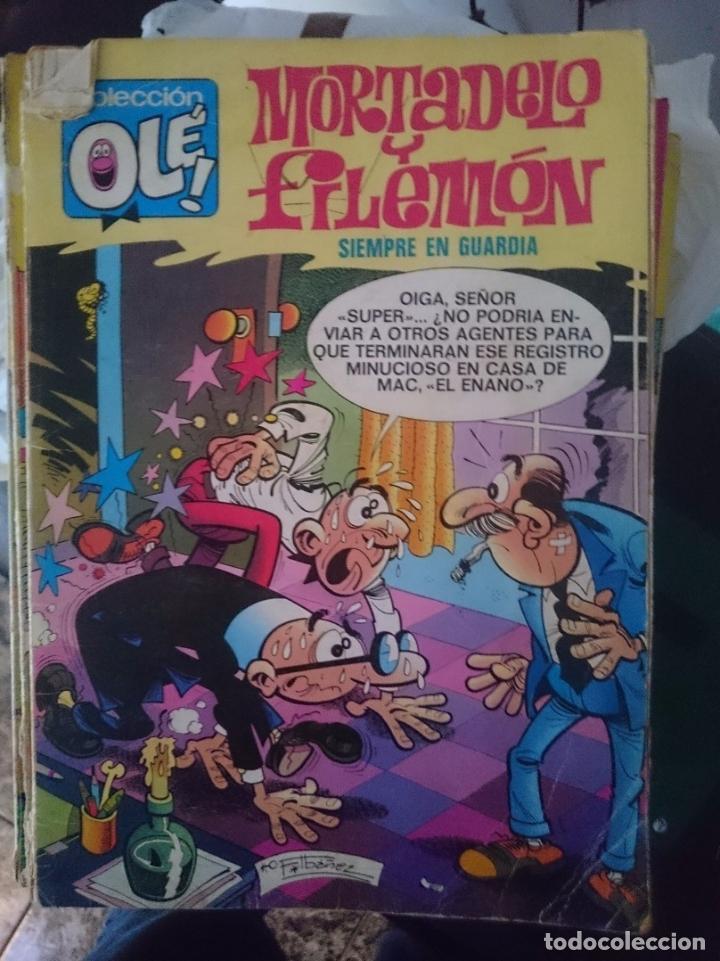 TEBEO COLECCION OLE - MORTADELO Y FILEMON - SIEMPRE EN GUARDIA (Tebeos y Comics - Bruguera - Ole)