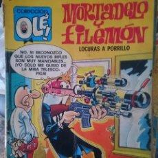 Tebeos: TEBEO COLECCION OLE - MORTADELO Y FILEMON - LOCURAS A PORRILLO -REFM1E5BODE. Lote 86424716