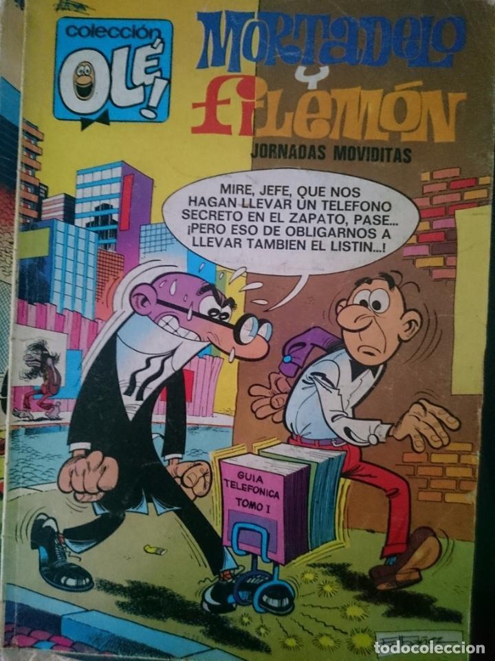 TEBEO COLECCION OLE - MORTADELO Y FILEMON - JORNADAS MOVIDITAS -REFM1E5BODE (Tebeos y Comics - Bruguera - Ole)