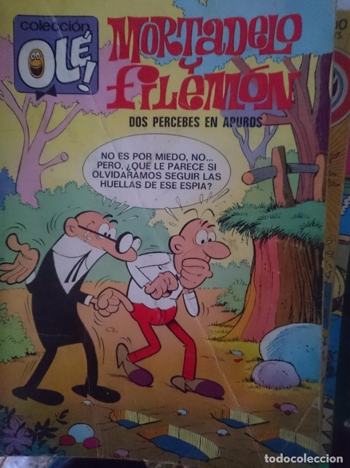 TEBEO COLECCION OLE - MORTADELO Y FILEMON - DOS PERCEBES EN APUROS (Tebeos y Comics - Bruguera - Ole)