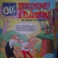 Tebeos: TEBEO COLECCION OLE - MORTADELO Y FILEMON - DOS PERCEBES EN APUROS -REFM1E5BODE. Lote 86424932
