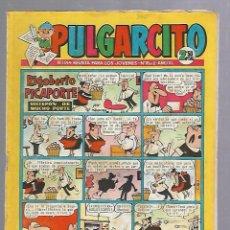 Tebeos: TEBEO PULGARCITO. Nº 1544. AÑO XL. REVISTA PARA LOS JOVENES. 2'50 PTS. BUEN ESTADO. Lote 86531144