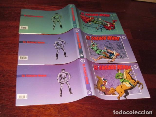 SOBRECUBIERTAS PARA LOS 3 TOMOS DE LA COLECCION COMPLETA DEL COSACO VERDE (Tebeos y Comics - Bruguera - Cosaco Verde)