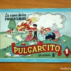 Tebeos: PULGARCITO, Nº 8 Y ÚLTIMO DE LA COLECCIÓN - EDITORIAL BRUGUERA 1944. Lote 86602548