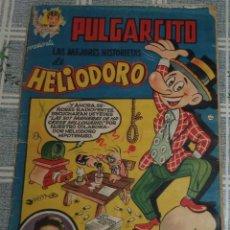 Tebeos: PULGARCITO LAS MEJORES HISTORIETAS DE HELIODORO POR VAZQUEZ . Lote 86680380