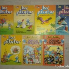 Tebeos: LOTE COMICS LOS PITUFOS COLECCION OLE BRUGUERA AÑOS 80S. Lote 86726536