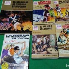 Tebeos: LOTE 5 LIBROS – AVENTURAS SOLDADO NAPOLEON – CAPITAN TRUENO – LOS CINCO. Lote 86851704
